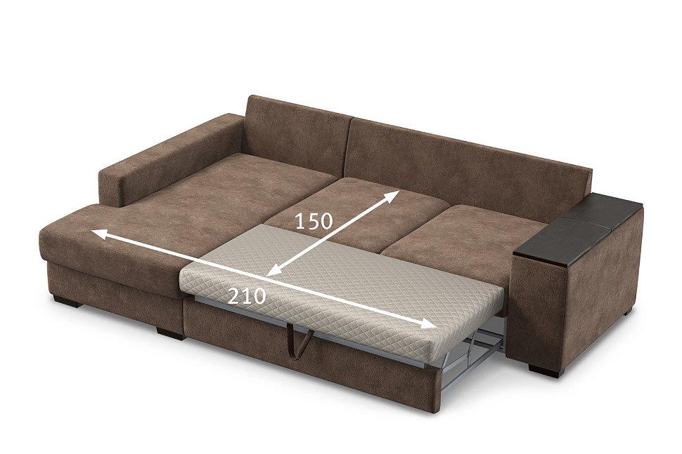 Размер спального места