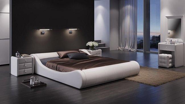 Двуспальная кровать Маура