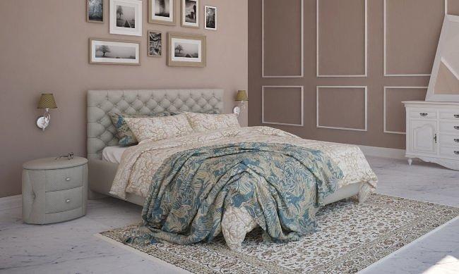Двуспальная кровать Альба 3