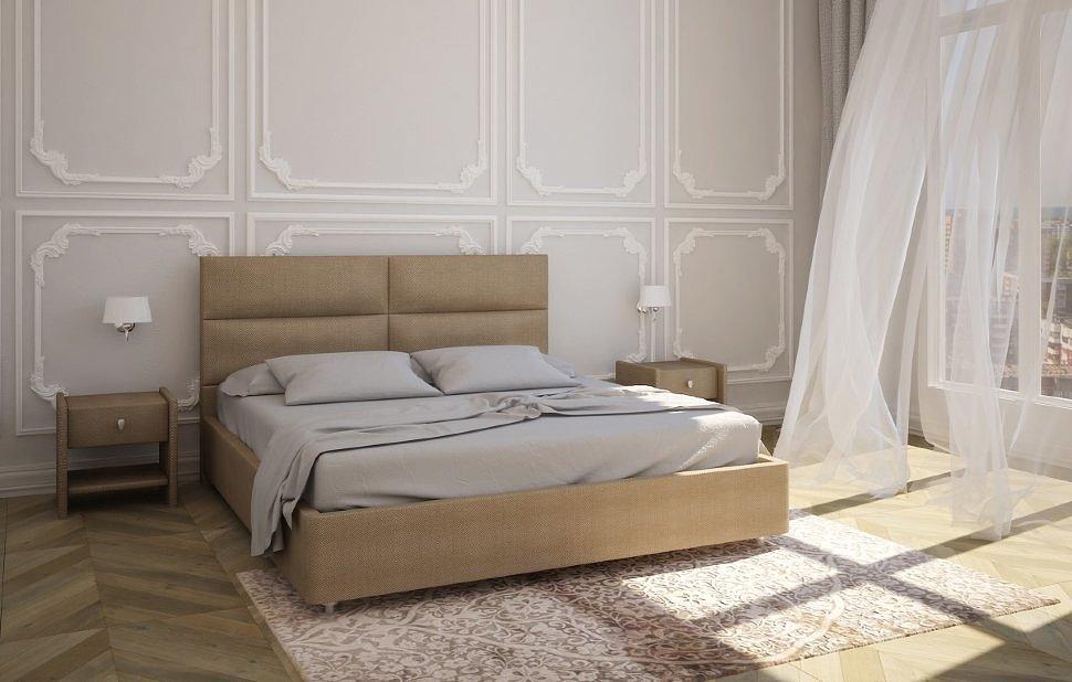 Двуспальная кровать Альба 1