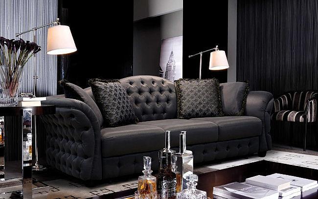 Прямой диван Тиффани